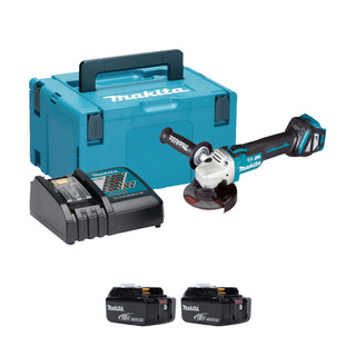 Makita DGA463 18v Brushless 115mm Angle Grinder (All Versions)