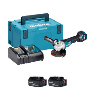 Makita DGA517 18v Brushless 125mm Angle Grinder (All Versions)