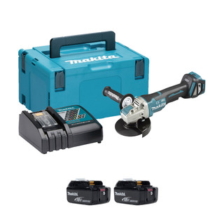 Makita DGA519 18v Brushless 125mm Angle Grinder (All Versions)