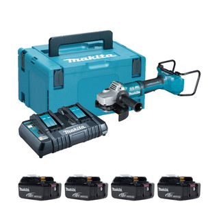 Makita DGA700P Twin 18v Brushless 180mm Angle Grinder (All Versions)
