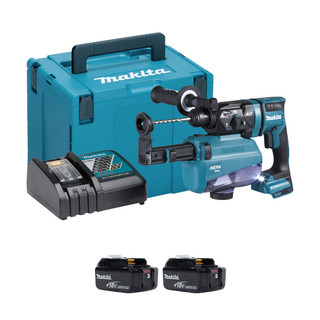 Makita DHR182V 18v SDS+ Brushless Rotary Hammer Drill With Extractor (All Versions)