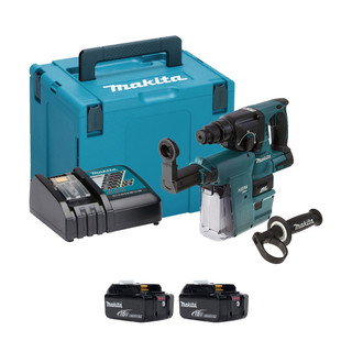 Makita DHR242V 18v SDS+ Brushless Hammer Drill With Extractor (All Versions)