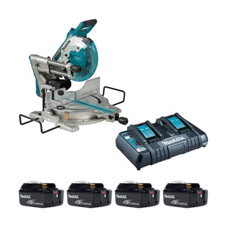 Makita DLS110P Twin 18v Brushless Slide Compound Mitre Saw (All Versions)