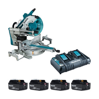 Makita DLS211PU Twin 18v Brushless 305mm Slide Compound Mitre Saw (All Versions)