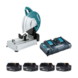 Makita DLW140P Twin 18v Brushless 355mm Cut Off Saw (All Versions)