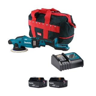 Makita DPO600 18v Brushless Random Orbit Polisher (All Versions)
