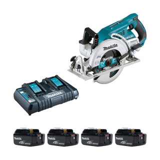 Makita DRS780P Twin 18v 185mm Brushless Circular Saw (All Versions)