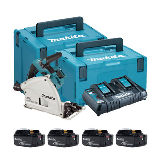 Makita DSP600P Twin 18v Brushless 165mm Plunge Saw (All Versions)