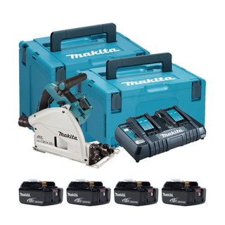 Makita DSP601P Twin 18v Brushless Plunge Saw (All Versions)
