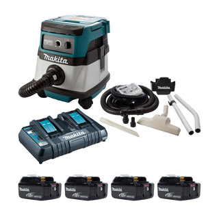 Makita DVC861P Twin 18v L Class Dust Extractor (All 110v Versions)