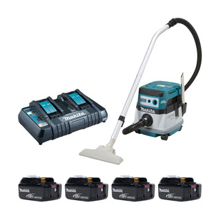 Makita DVC863P Twin 18v Brushless Dust Extractor (All Versions)