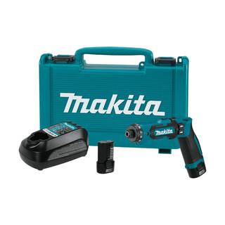 Makita DF012DSE 7.2v Pencil Drill Driver (2x1.5Ah)