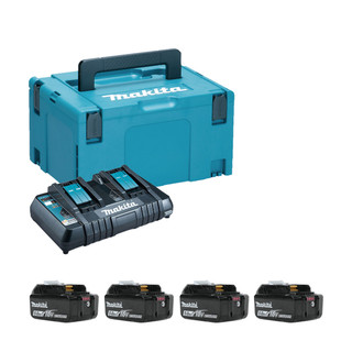 Makita 197627-6 Twin Power Source Kit (4x5Ah)