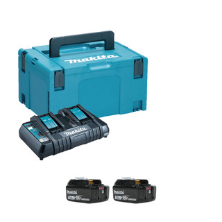 Makita 98C430 Twin Power Source Kit (2x5Ah)