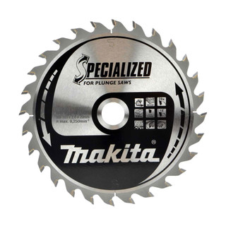 Makita B-56699 TCT Plunge Saw Blade - 165x20x28T (Wood)