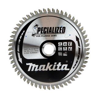 Makita B-56714 TCT Plunge Saw Blade - 165x20x56T (Aluminium)