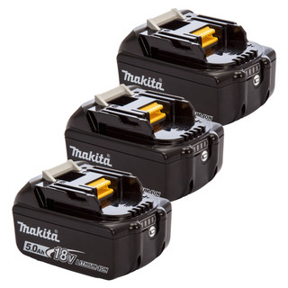 Makita BL1850B 18v 5Ah Battery Triple Pack (3x5Ah)