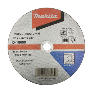 Makita D-18699 Cut Off Wheel For Metal - A30S (230mm)