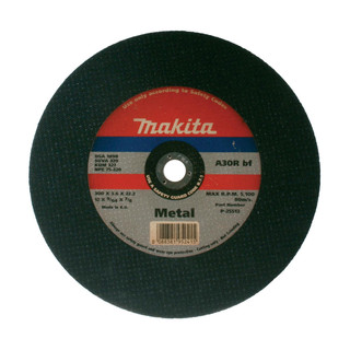 "Makita P-25513 12"" Abrasive Cutting Disc - 22.23mm Bore (Metal)"