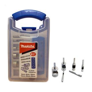Makita P-83646 Mini Diamond Drill Set (6, 8, 10, 15, 20, 25mm)