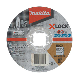 Makita E-00387 X-LOCK 115mm Cutting Disc A60T