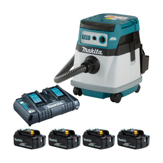 Makita DVC155L Twin 18v Brushless L Class Dust Extractor (All Versions)