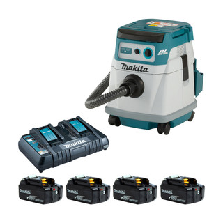 Makita DVC156L Twin 18v Brushless L Class Dust Extractor (All Versions)