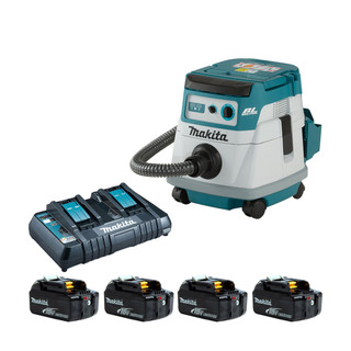 Makita DVC866L Twin 18v Brushless L Class Dust Extractor (All Versions)