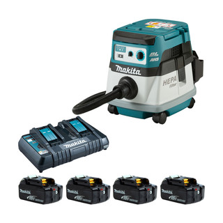 Makita DVC867L Twin 18v Brushless L Class Dust Extractor (All Versions)