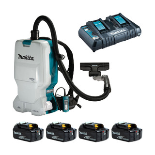 Makita DVC660 Twin 18v Brushless Backpack Vacuum Cleaner (All Versions)