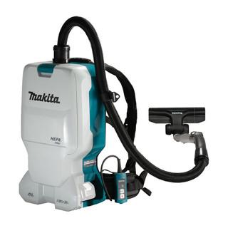 Makita DVC660Z Twin 18v Brushless Backpack Vacuum Cleaner (Body Only)