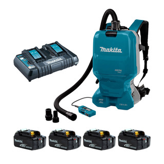 Makita DVC665 Twin 18v Brushless Backpack Vacuum Cleaner (All Versions)