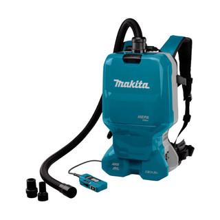 Makita DVC665ZU Twin 18v Brushless Backpack Vacuum Cleaner (Body Only)