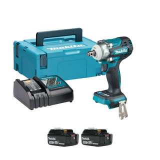 Makita DTW300RTJ 18v Brushless Impact Wrench (2x5Ah)