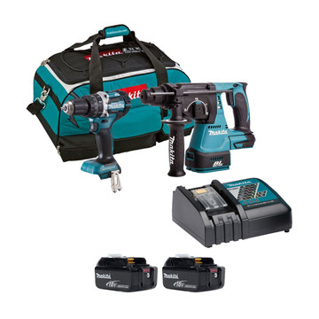 Makita DLX2204TX3 18v Brushless 2 Piece Kit (All Versions)
