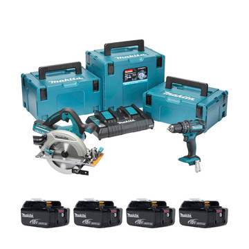 Makita DLX2140PJ 18v LXT 2 Piece Kit (All Versions)