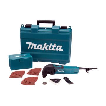 Makita TM3000CX4 Multi-Tool + 33 Accessories (240v)