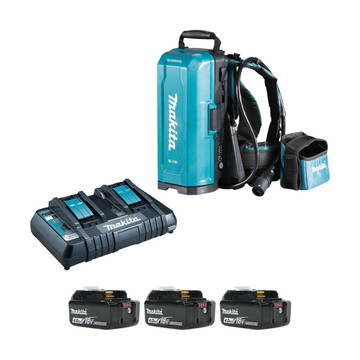 Makita 191A59-5PM-3 18v LXT Portable Power Supply PDC01 (3x4Ah)
