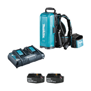 Makita 191A59-5PT-2 18v LXT Portable Power Supply PDC01 (2x5Ah)