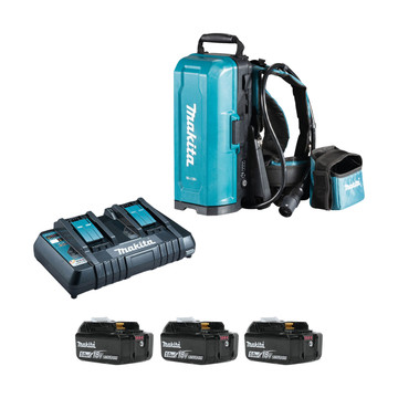 Makita 191A59-5PT-3 18v LXT Portable Power Supply PDC01 (3x5Ah)