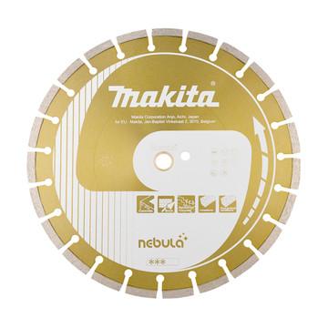 Makita B-53992 Nebula Segmented 3 Star Diamond Blade (D=125mm, S=10mm B=22.23mm)