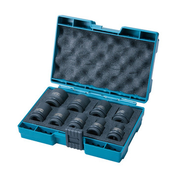 "Makita B-66232 9 Piece 1/2"" Impact Socket Set (8-21mm)"
