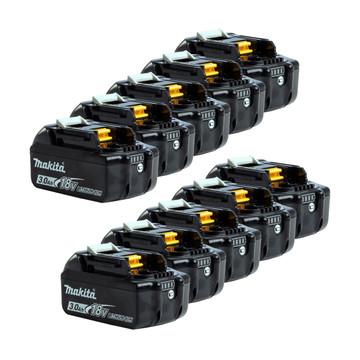 Makita BL1830B 18v 3Ah Li-Ion Batteries (10 pack)