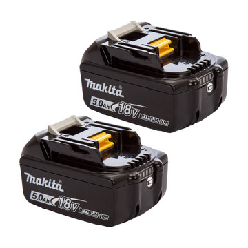 Makita BL1850B 18v 5Ah Battery Twin Pack (2x5Ah)