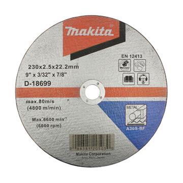 Makita D-18699 Cut Off Wheel For Metal - A30S (230mm)