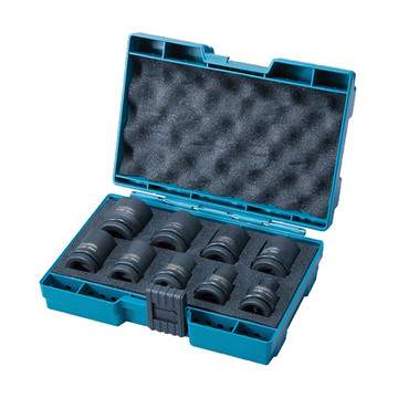 "Makita D-41517 9 Piece 1/2"" Premium Impact Socket Set (8-24mm)"