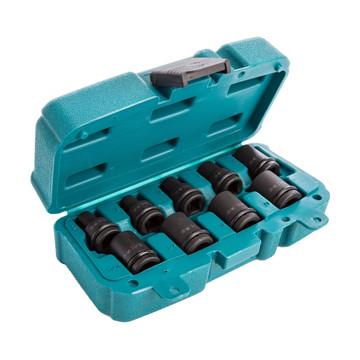 "Makita P-46953 9 Piece 1/2"" Impact Socket Set (Metric + Imperial)"