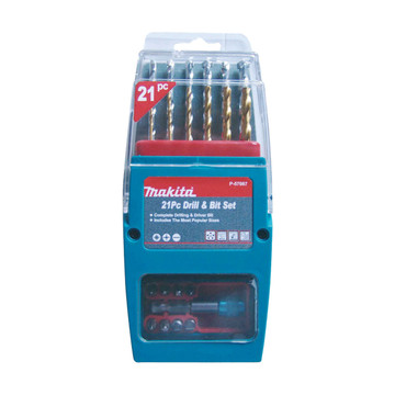 Makita P-57087 Drill & Bit Set (21 piece)
