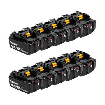 Makita BL1860B 18v 6Ah Battery Ten Pack (10x6Ah)