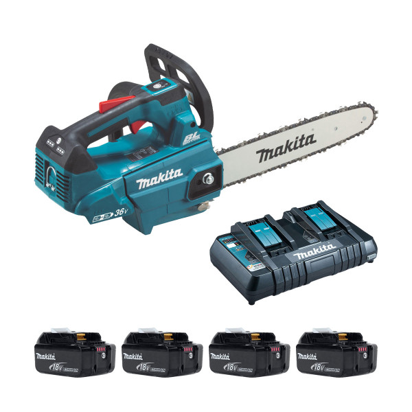 Makita DUC306P Twin 18v Brushless 30cm Chainsaw (All Versions)